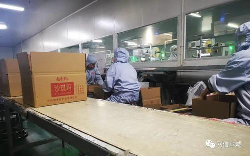走访阜城县北京?中华老字号食品产业园
